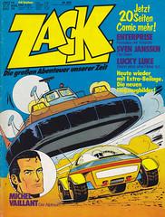 ZACK / 1976 Nr. 17 (micky the pixel) Tags: comics comic heft koralleverlag zack jeangraton michelvaillant rennfahrer
