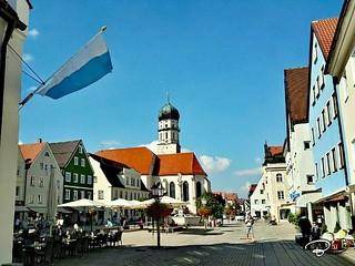 SCHONGAU #Oberbayern #Pfaffenwinkel #Fußgängerzone #Schongau #Stadt #city #gate #Tor #Käppele #church #Photographie #photography