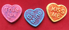Valentine's Day Cookies (TedParsnips) Tags: cooky cookie cookies treat sweets hearts heart valentine valentinesday holiday bemine kissme kiss sprinkles food dollarstore discountstore