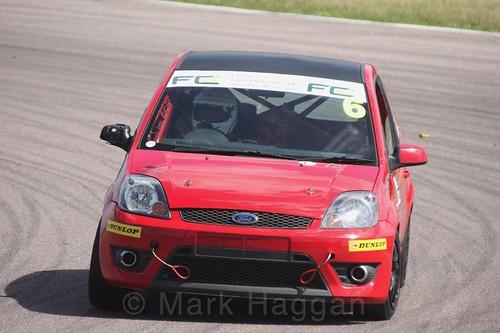 Joshua Watkins in the Fiesta championship Class C at Rockingham, June 2017
