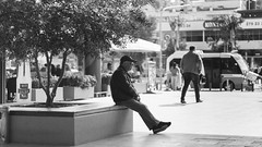 loneliness (bmakaraci) Tags: burakmakaraci canon1100d ef50mm primelens photograpy photographer person prime street new blackandwhite lens turkish turkey türkiye outdoor oldman canon life f18 candid
