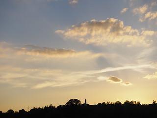 © Sunset Church Sky Upper Bavaria Germany – Sonnenuntergang Wolken Himmel Kirche Bayern
