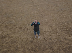 beach togging (paul hitchmough new) Tags: paulhitchmoughphotography beach beachphotography mavicpro dji drone dronephotography westkirby sand people