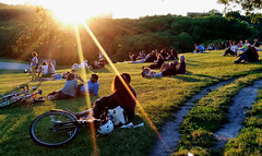 Summer Solstice Riverdale Park (Whencewecame) Tags: toronto summer solstice broadview riverdale park sunset
