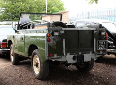 YKY 621L (Nivek.Old.Gold) Tags: 1972 land rover 88 series 3 softtop diesel aca