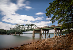 Browns Bridge (John Cothron) Tags: 10stopneutraldensityfilter americansouth cpl canoneos5dmkiv cothronphotography distagon2128ze distagont2821ze dixie gainesville georgia hallcounty johncothron lakelanier leebigstopper leefiltersystem southatlanticstates southernregion thesouth us usa unitedstatesofamerica zeissdistagont2821ze afternoonlight circularpolarizingfilter lakeshore landscape longexposure lowwaterlevel outdoor outside rock scenic spring stormyweather img17572170618 ©johncothron2017 brownsbridge