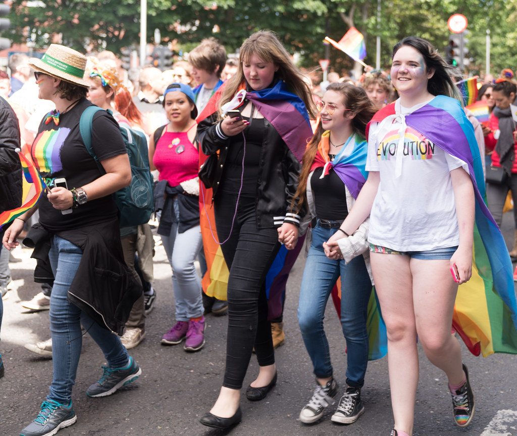 LGBTQ+ PRIDE PARADE 2017 [ON THE WAY FROM STEPHENS GREEN TO SMITHFIELD]-130084