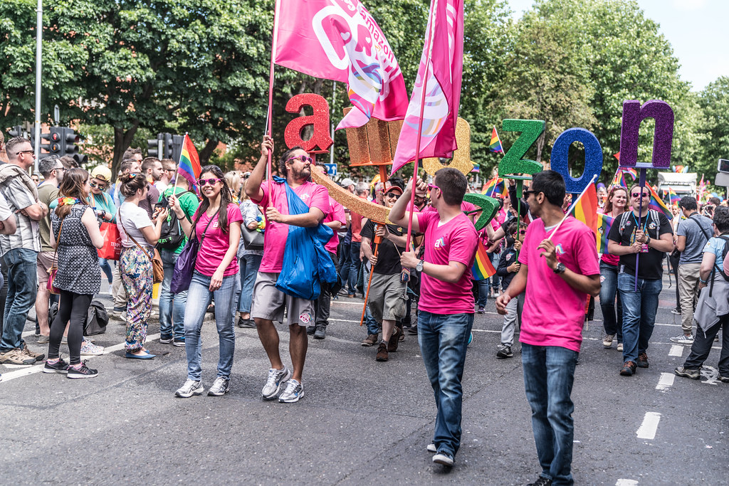 LGBTQ+ PRIDE PARADE 2017 [ON THE WAY FROM STEPHENS GREEN TO SMITHFIELD]-130087
