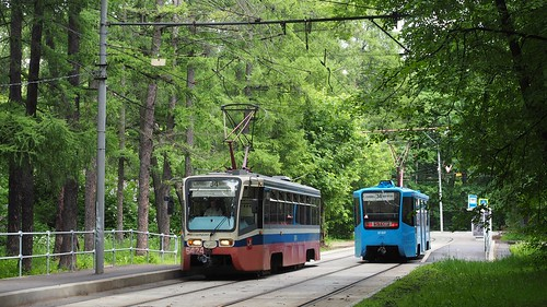 Moscow tram 5274