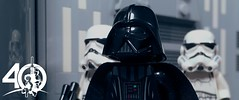 10. Vader (kyle.jannin) Tags: lego legostarwars starwars star wars episode iv a new hope deathstar hallway darthvader stormtroopers 40 anniversary celebration