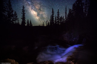Milky Way, Uinta's, Utah