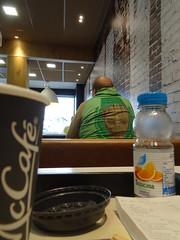 Groot (stevenbrandist) Tags: mcdonalds breakfast groot morning coffee green loughborough