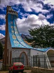 The church in Yanama.