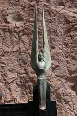 Spread your wings (BrianEden) Tags: dam hooverdam statue travelphotography river xpro2 water fuji lasvegas travel nv fujifilm nevada templebarmarina arizona unitedstates us