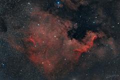 Northamerica Nebula RGB (Alejandro Pertuz) Tags: nebula deep deepsky astronomy astrophotography science sky northamerica