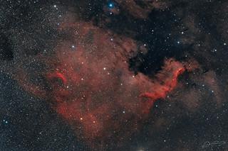 Northamerica Nebula RGB
