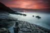 Yo y el mar (Pruden Barquin) Tags: paisaje landscape largaexposicion longexposure atardecer sunset sedas silks seascape seacatabrian sea marcantabrico marina costa coast colores colors prudenbarquin fotografia nikon