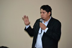 Ministerio de Hidrocarburos expone en la UPEA la industrialización de los hidrocarburos en Bolivia (Ministerio de Hidrocarburos y Energía) Tags: industrialización oscarbarriga upea elalto