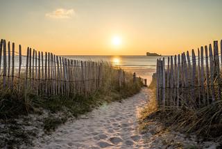 La plage du Tourlinguet