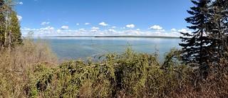 Cold Lake - Cold Lake Provinicia Park - trail pano