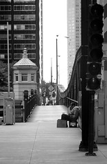 Photo1100Assign5Nicole162 (nicole.wendel) Tags: chicago black white homeless rule thirds lonely alone small