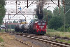 M62-1685 (paw-mor) Tags: trainspotting m62 orlen koltrans d27273 gagarin mazut diesel railway rail railroad train cargo tank m621685