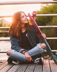 Skater (Galo Andrés) Tags: skate ecuador cuenca golden girl