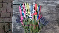 Lavender wands (fuseaux)