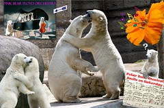♪ ♫ Music is Magic ♪ ♫ (caren (Thanks for 2.0 Mio+ views)) Tags: smileonsaturday musicismagic polarbear pinkbearfloydorchestra tierparkhellabrunnzoomunich musical