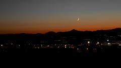 Moon and City (mehmetyukselphotography) Tags: moon nature city light longexposure canon canon6d life love ışık world erzurum hayat doğa photo photography sky awesome amazing amateur mount mountain mountains