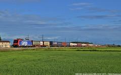 E484 002 (MattiaDeambrogio) Tags: treno treni train trains e484 sbb cargo borgolavezzaro traxx merci container mortara