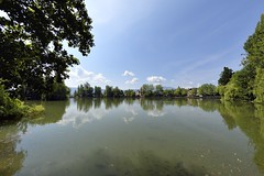 _DSC3365 (SLVA49) Tags: llac lago estanque puigcerdà ojo pez uga nikon df 16mm f8