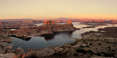 LAKE POWELL - ALSTROM POINT (AlCapitol) Tags: nikon d800 lac lake lakepowell sunset reflet reflection