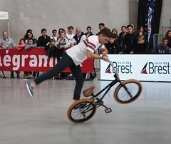 Riding Indoor Show Brest 2017 (EricFromPlab) Tags: bretagne finistère brest capucins breizh flat brittany freestyle rider jump bmx