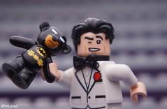Bruce Wayne is a big fan of Teddy bears 😂 (@yslego on instagram) Tags: lego yslego batman legobatman brucewayne teddybear bear