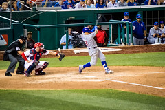 Strike 3 (clif_burns) Tags: baseball chicagocubs javierbaez nationals nationalspark strike washingtondc