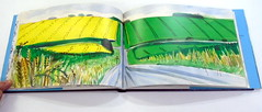 David Hockney, A Yorkshire Sketchbook - DSC01403 (Dona Minúcia) Tags: davidhockney ayorkshiresketchbook art drawing painting handbook journeybook artwatercolor arte pintura caderno landscape desenho aquarela cadernodeviagem paisagens registro