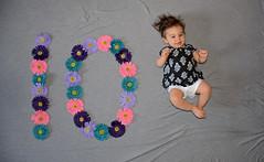 Hadley 10 Months. (Tonyyy.) Tags: nikon d7100 mayflowers flowers colors baby 10months 10 hadleyraemoskella