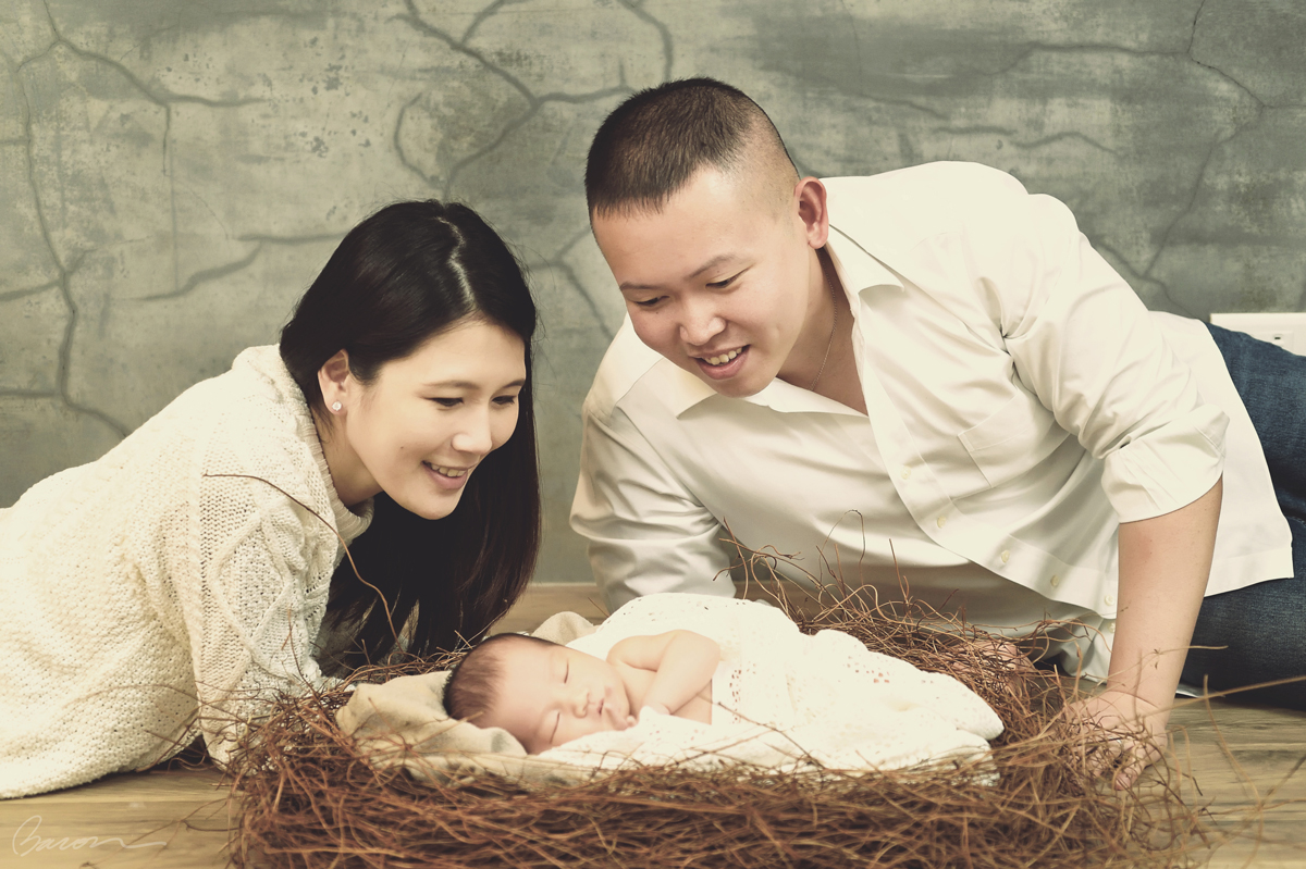 Newborn Baby,親子寫真, 新生兒寫真, BACON PHOTOGRAPHY STUDIO, 婚攝培根,Color_021