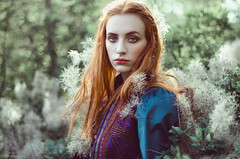 Portrait of Martina (Michela Riva Photography) Tags: portrait girl people nature freedom outside beautiful nikon fashion emotions woman colors red hair model face 50mm magic young redhead moody one outdoors fairytale emotional ginger wild enchanted wanderlust free spirit