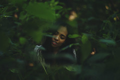 ________ (ginaballerina.) Tags: gina ginavasquez ginaballerina auset friends woods woman forest exploring expansion portrait girl green light hidden leaves foliage dreamy nikon nikkor d610 pretty beautiful adventure nyc queens