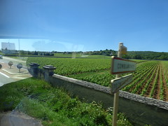 Route des Grands Crus - Comblanchien - signs