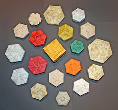 Tessellation Boxes (mganans) Tags: origami tessellation