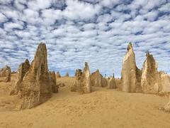 The Pinnacles (Down Under Cove) Tags: clouds sand thepinnacles cervantes westernaustralia limestone desert