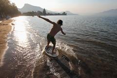skimboard (JeremyOK) Tags: summer okanagan lake okanaganlake powellbeach summerland bc beach skim skimboard