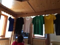 IMG_6999 (mary2678) Tags: castelrotto kastelruth italy europe honeymoon rick steves myway way alpine tour dolomites hotel cavallino doro room clothes clothing laundry air dry dan