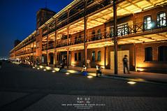 Red Brick Yokohama (Pop_narute) Tags: red brick redbrick building night life street people japan japanese