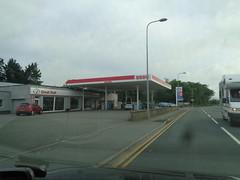 Esso -Great Wall, Pwllheli, Gwynedd (christopherbarker13) Tags: esso exxon greatwall pwllheli gwynedd petrolstation garage