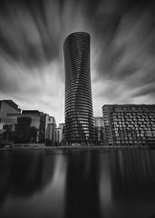 Baltimore Tower (darrenjames.photography) Tags: canarywharf cityscape darrenjamesphotography nikon blackandwhite longexposure docklands london