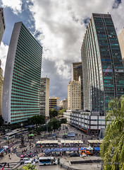 Rio de Janeiro downtown mini-series continues (shooterb9) Tags: riodejaneiro rj downtown urban bend skyscrapper historic rio brasil brazil largodacarioca carioca